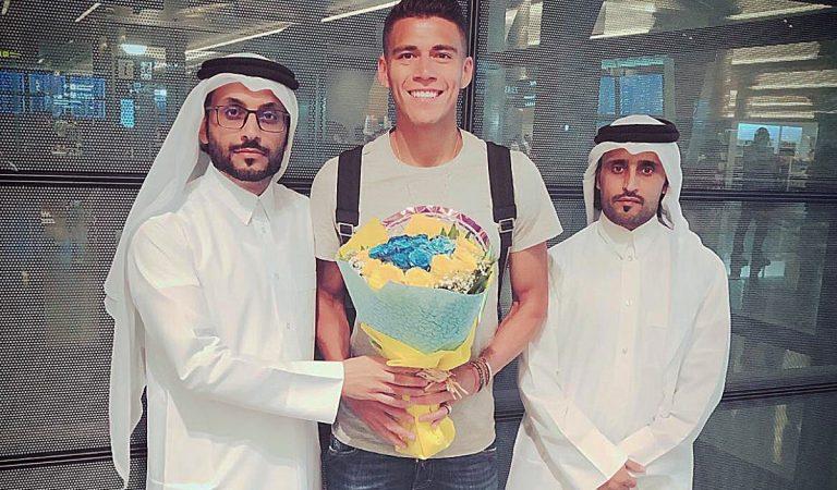 Primer gol de Héctor Moreno con  el Al-Gharafa
