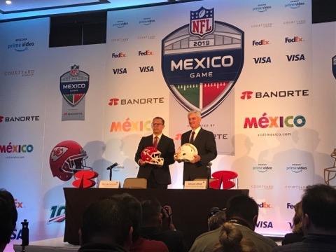 La NFL México presentó el juego entre los Kansas City Chiefs y Los Ángeles Chargers