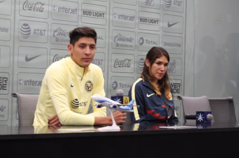 América se declara listo para iniciar un nuevo torneo en la Liga MX y Edson se despide de Coapa
