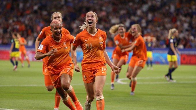 Holanda está en la Final de la Copa del Mundo Femenil