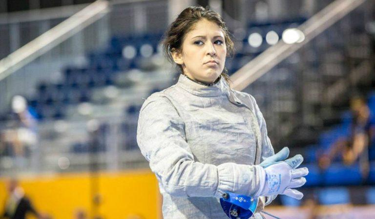 Paola Pliego quedó eliminada del Mundial de Esgrima