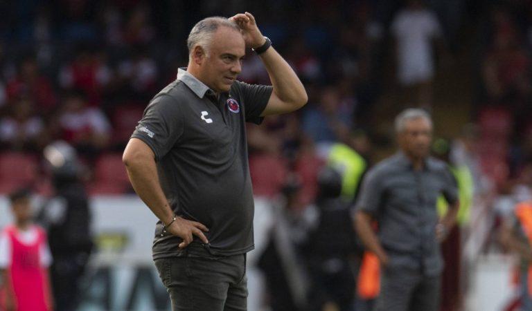 """Memo"" Vázquez acusa al Veracruz"