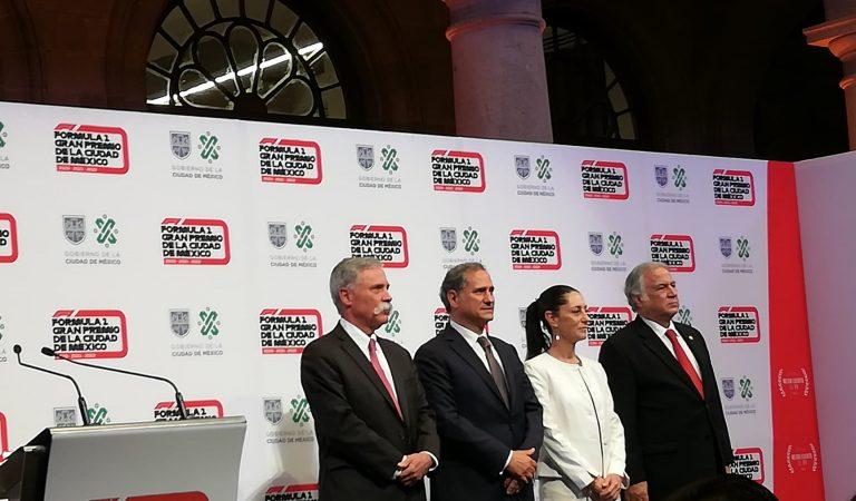 Oficial: La F1 se queda en la Ciudad de México