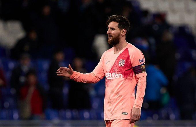 Messi está de vuelta con el Barcelona