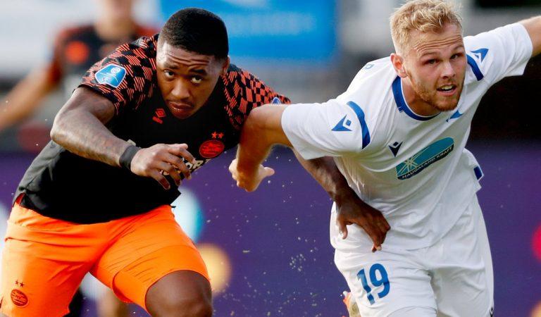 PSV triunfa por la mínima  en Hausegund por la Europa League