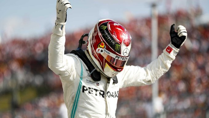 Hamilton calló a Verstappen en el GP de Hungría
