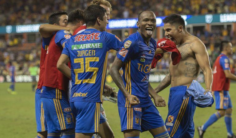 Tigres y Cruz Azul son los finalistas de la Leagues Cup