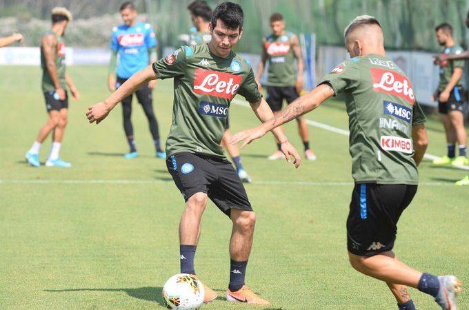 Hirving Lozano será presentado mañana con Napoli