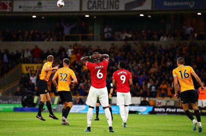 Paul Pogba deja escapar los tres puntos ante los Wolves