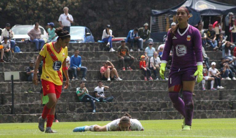 Pumas Femenil y Monarcas dividen puntos en La Cantera