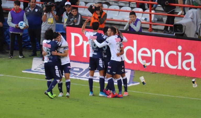 """Pachuca supera a la """"Máquina""""en el Clásico Hidalguense"""