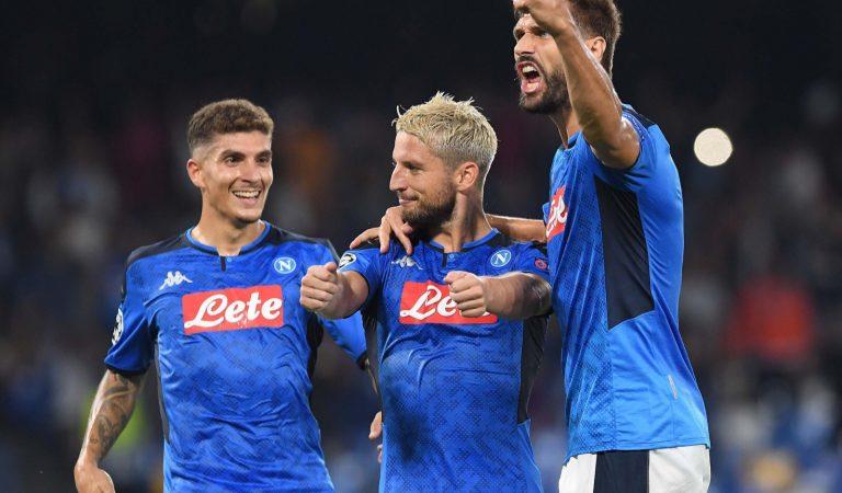 El Napoli destronó al Liverpool