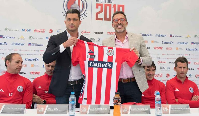 Gustavo Matosas fue presentado como director técnico del Atlético San Luis