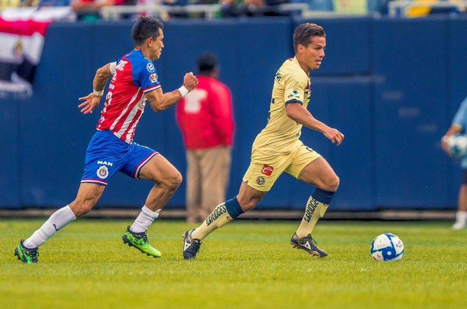 Empate en el Súper Clásico amistoso entre América y Chivas