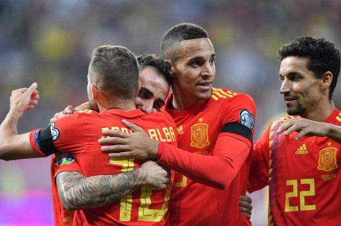 """Triunfo histórico de la """"Furia"""" en Rumania y empate suizo rumbo a la Euro 2020"""