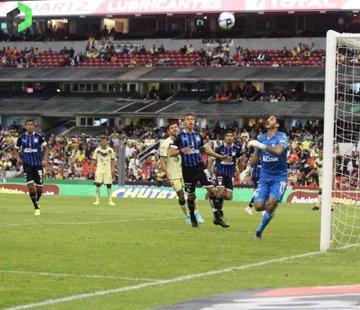 Querétaro le saca un punto al América en el Estadio Azteca en duelo de ida y vuelta