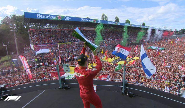 Charles Leclerc se lleva el Gran Premio de Italia