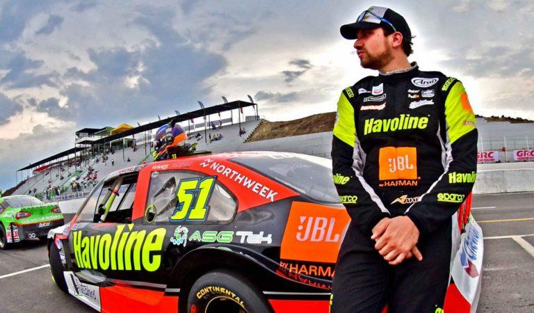 Jake Cosío buscará el título de Novato del Año en la NASCAR México