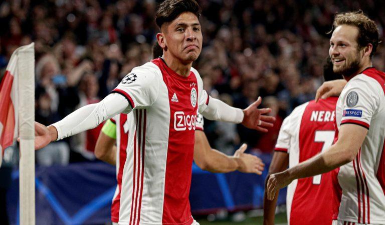 Edson Álvarez se despacha con otro gol y Ajax gana en Champions League