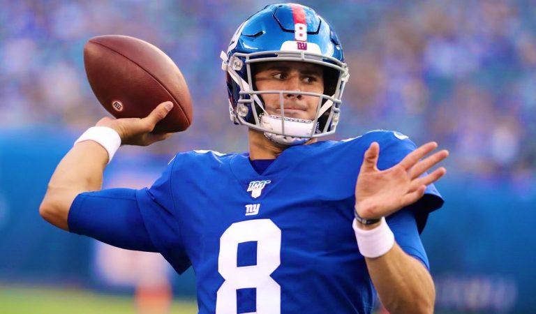 NY Giants cambiarán de QB titular
