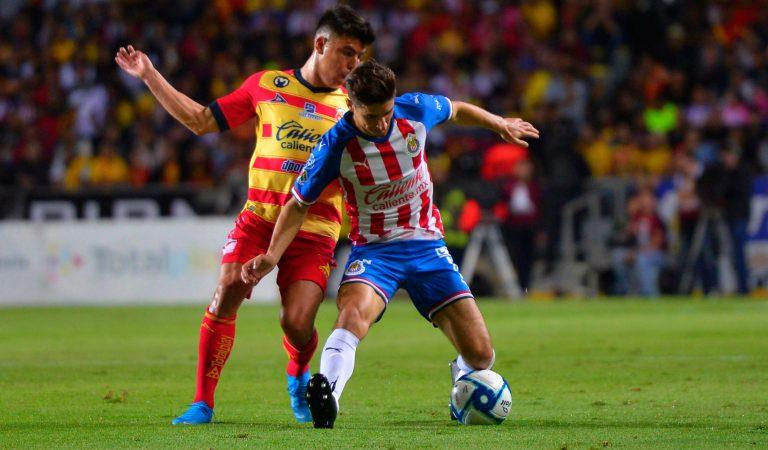 Sebastián Sosa se convierte en el héroe de Monarcas ante Chivas