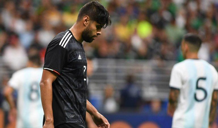 """""""Contra Argentina no hice un buen partido"""": Néstor Araujo"""