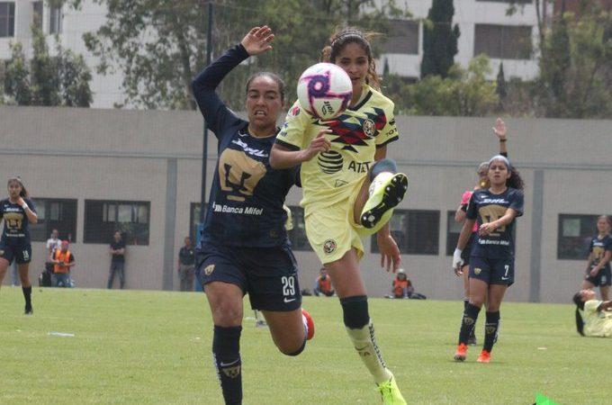 América Femenil y Pumas no se hacen daño en el Clásico Capitalino