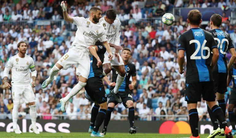 Real Madrid rescata empate frente al Brujas