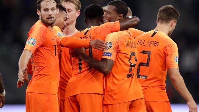 Alemania y Holanda se acercan a la Euro 2020