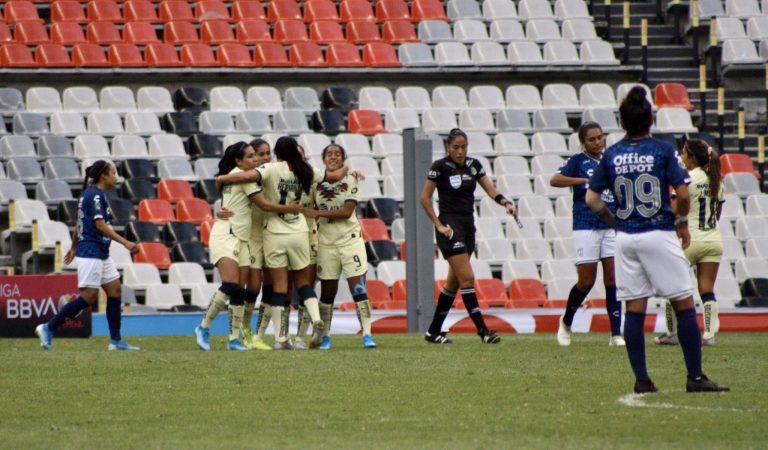 América Femenil saca un importante triunfo sobre Pachuca
