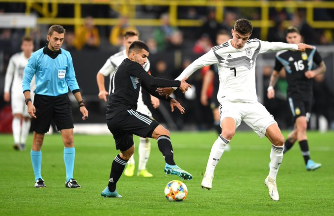 Alemania y Argentina ofrecieron un vibrante empate en Dortmund