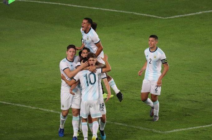 """El """"Tri"""" Sub-22 concluye su preparación para el Pre-olímpico con empate ante Argentina"""