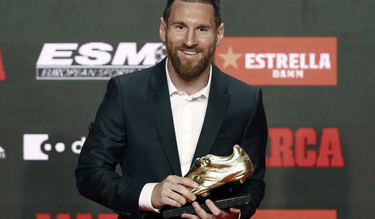Leo Messi se confirmó como el Rey del Gol en Europa