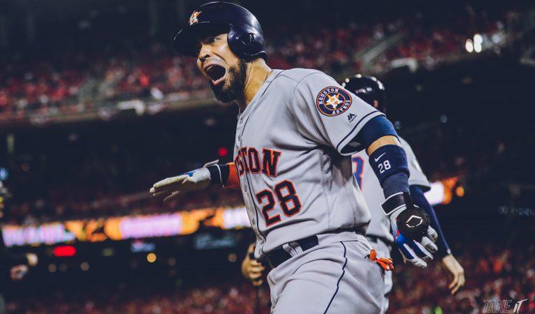 Los Astros descuentan en la Serie Mundial