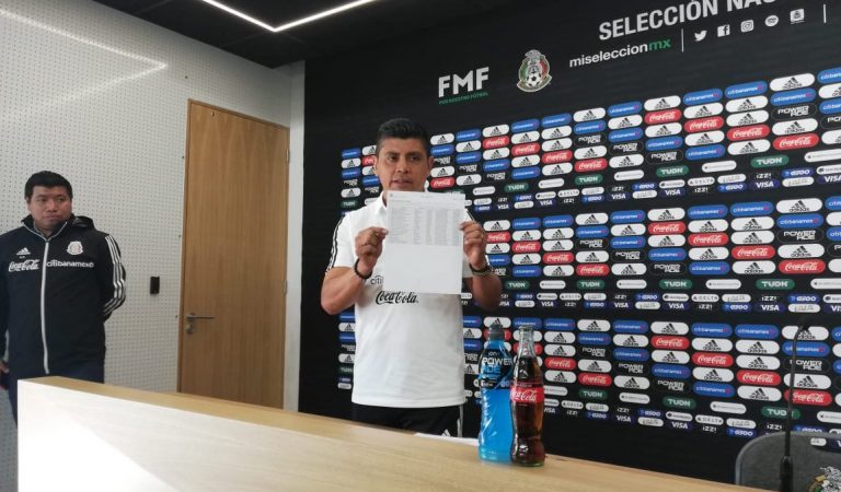 Definida la convocatoria de la Selección Méxicana Sub-17