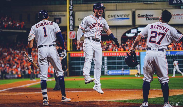 En juego de alarido, los Astros se instalan en la Serie Mundial