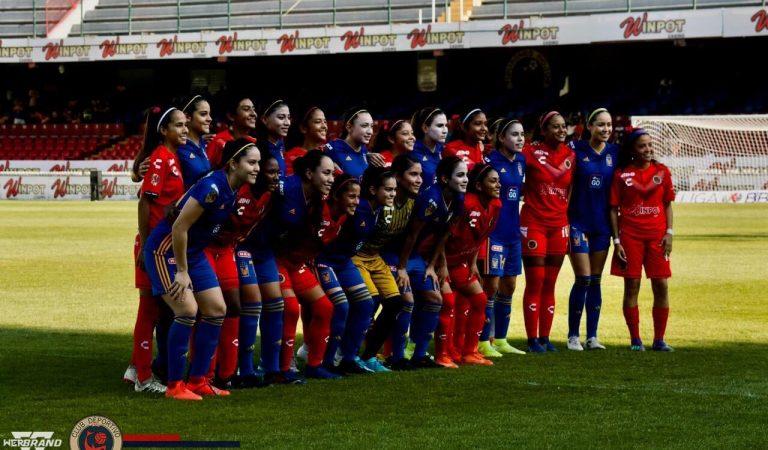 Veracruz Femenil y Tigres se unieron en solidaridad debido a la falta de pagos
