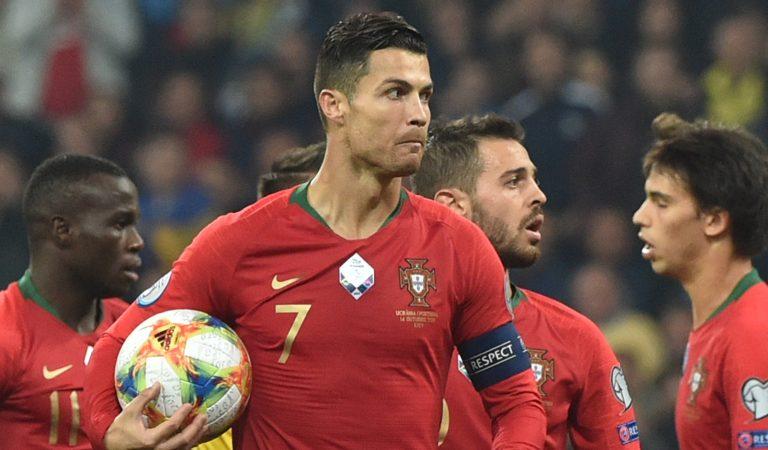 Cristiano Ronaldo hace historia con Portugal; Francia e Inglaterra están cerca de la Eurocopa