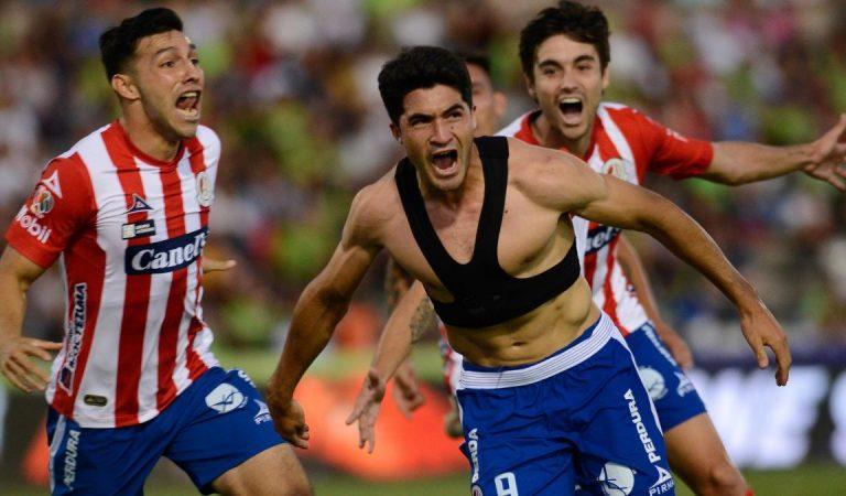 Toluca salva el empate; Atlético San Luis gana agónicamente y Rayados en caída libre