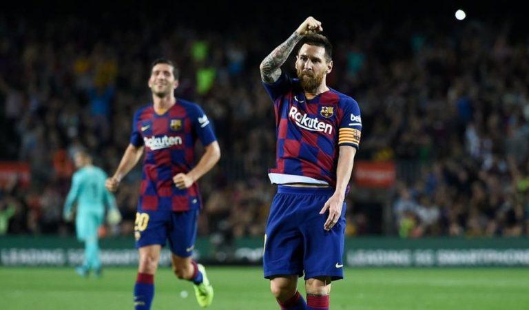 Messi pensó en abandonar al Barcelona