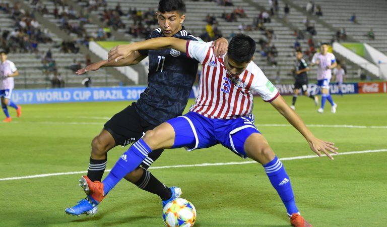 México inicia su participación en el Mundial Sub-17 con empate ante Paraguay