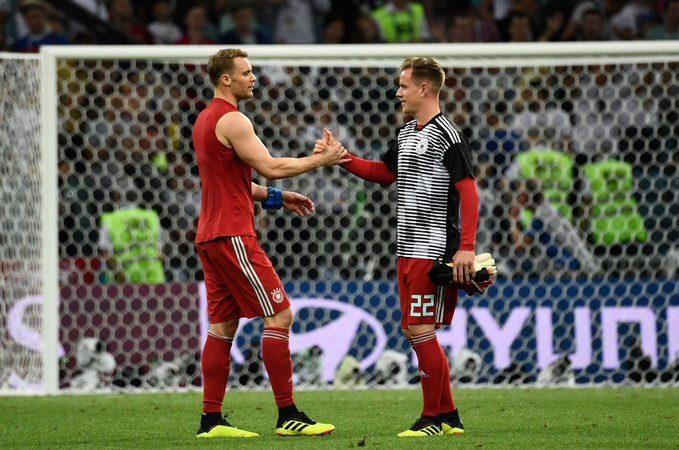 Polémica en el arco de Alemania