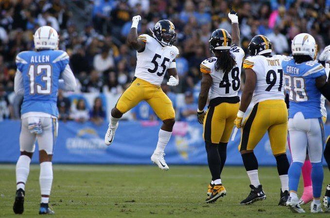 Steelers vencen a Chargers en el domingo por la noche