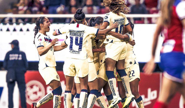 Águilas toman ventaja en el Clásico Nacional Femenil
