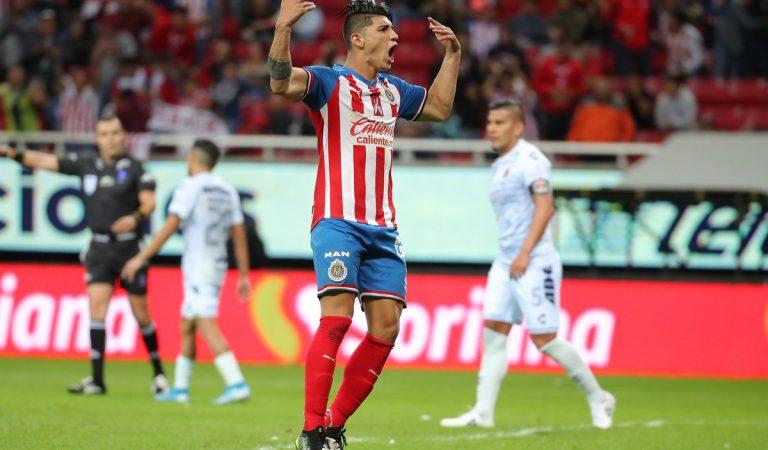Guadalajara vence al Veracruz en noche histórica de Pulido y con gol de Toño Rodríguez