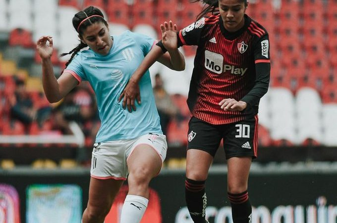 Atlas Femenil y Rayadas no se hacen daño en la ida de cuartos de final