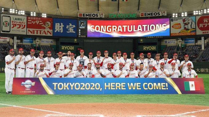 México clasifica por primera vez en béisbol a los Juegos Olímpicos