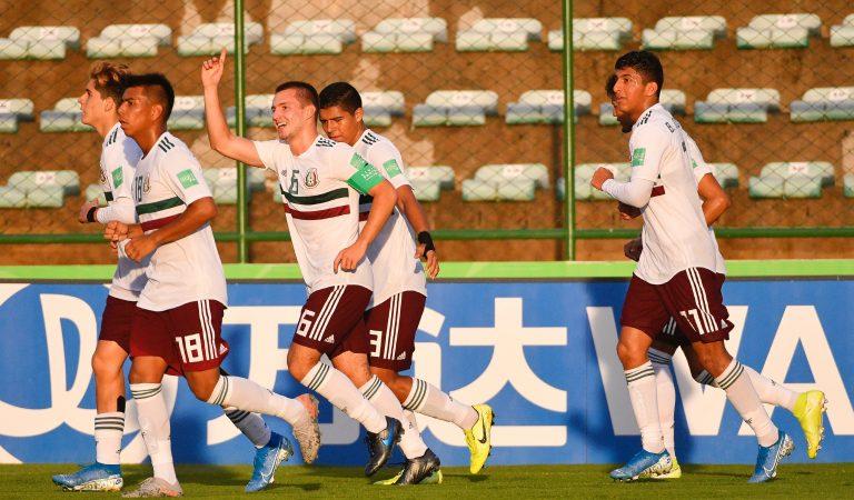 México avanza a los cuartos de final en el Mundial Sub-17