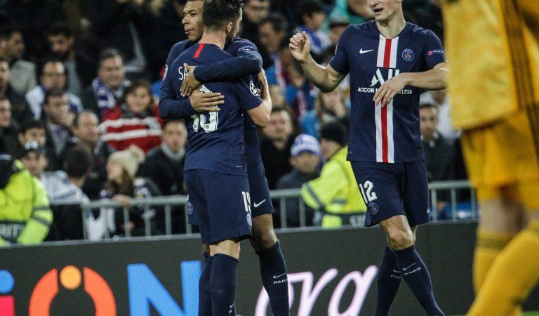 París Saint-Germain le robó la victoria al Real Madrid en el Santiago Bernabéu
