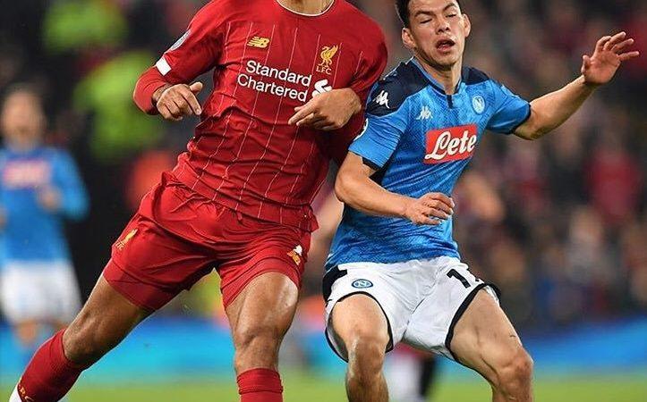 Napoli empata con Liverpool y Ajax se acerca a octavos de final en Champions League